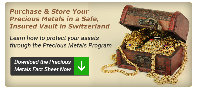 Learn how to protect your assets through the Precious Metals Program